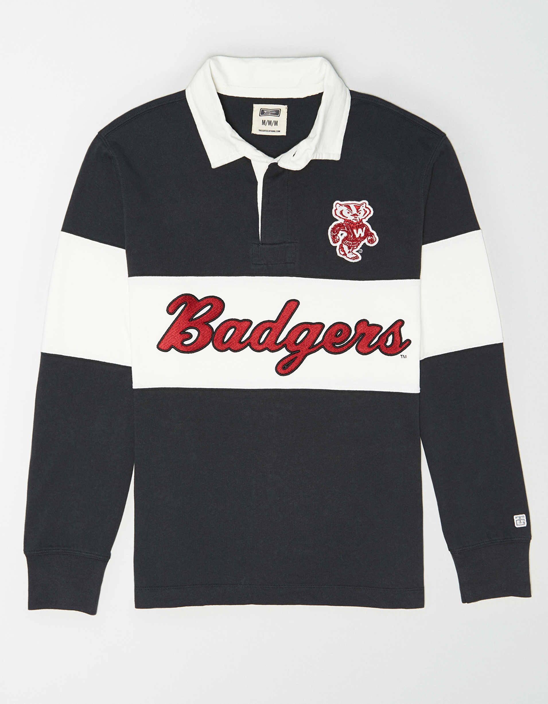 Tailgate Men's Wisconsin Badgers Rugby Shirt