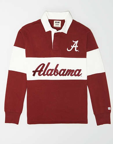 Tailgate Men's Alabama Crimson Tide Rugby Shirt