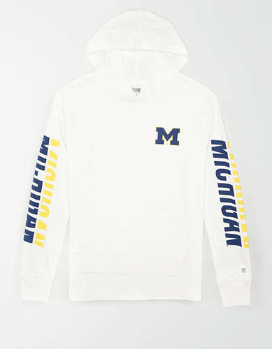 Tailgate Men's Michigan Wolverines Hoodie Tee