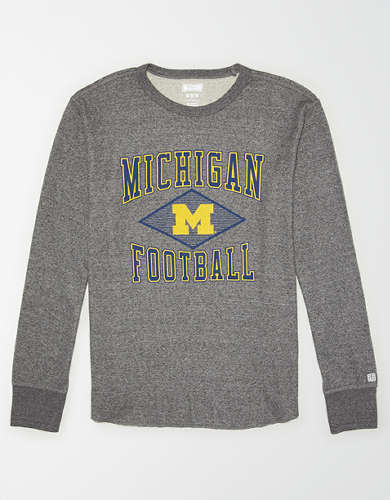 Tailgate Men's Michigan Wolverines Thermal Shirt