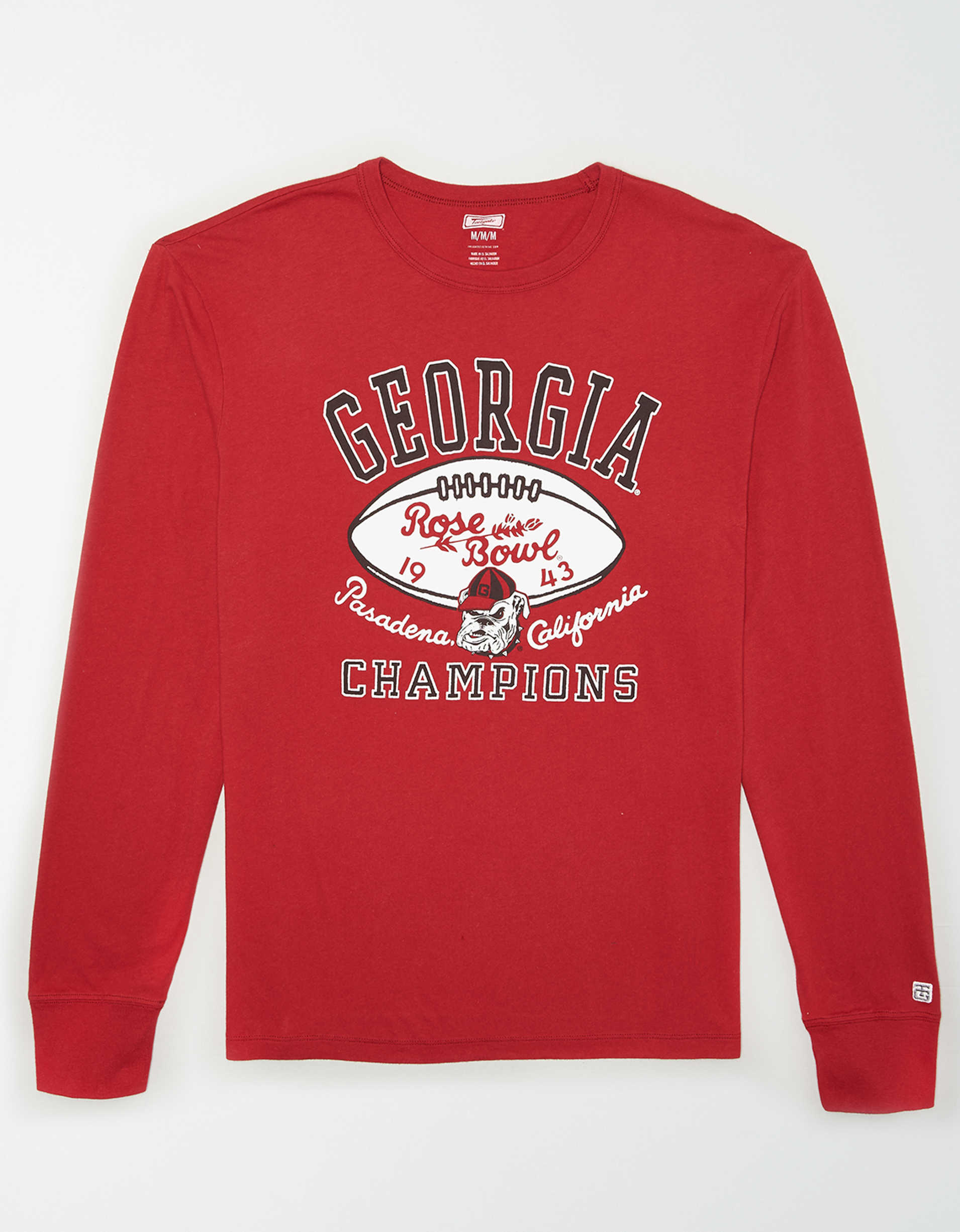 Tailgate Men's Georgia Bulldogs Long Sleeve T-Shirt
