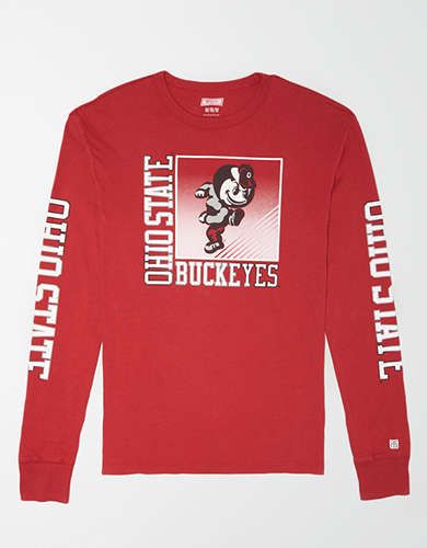 Tailgate Men's Ohio State Long Sleeve T-Shirt