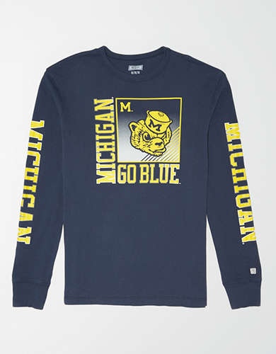 Tailgate Men's Michigan Long Sleeve T-Shirt