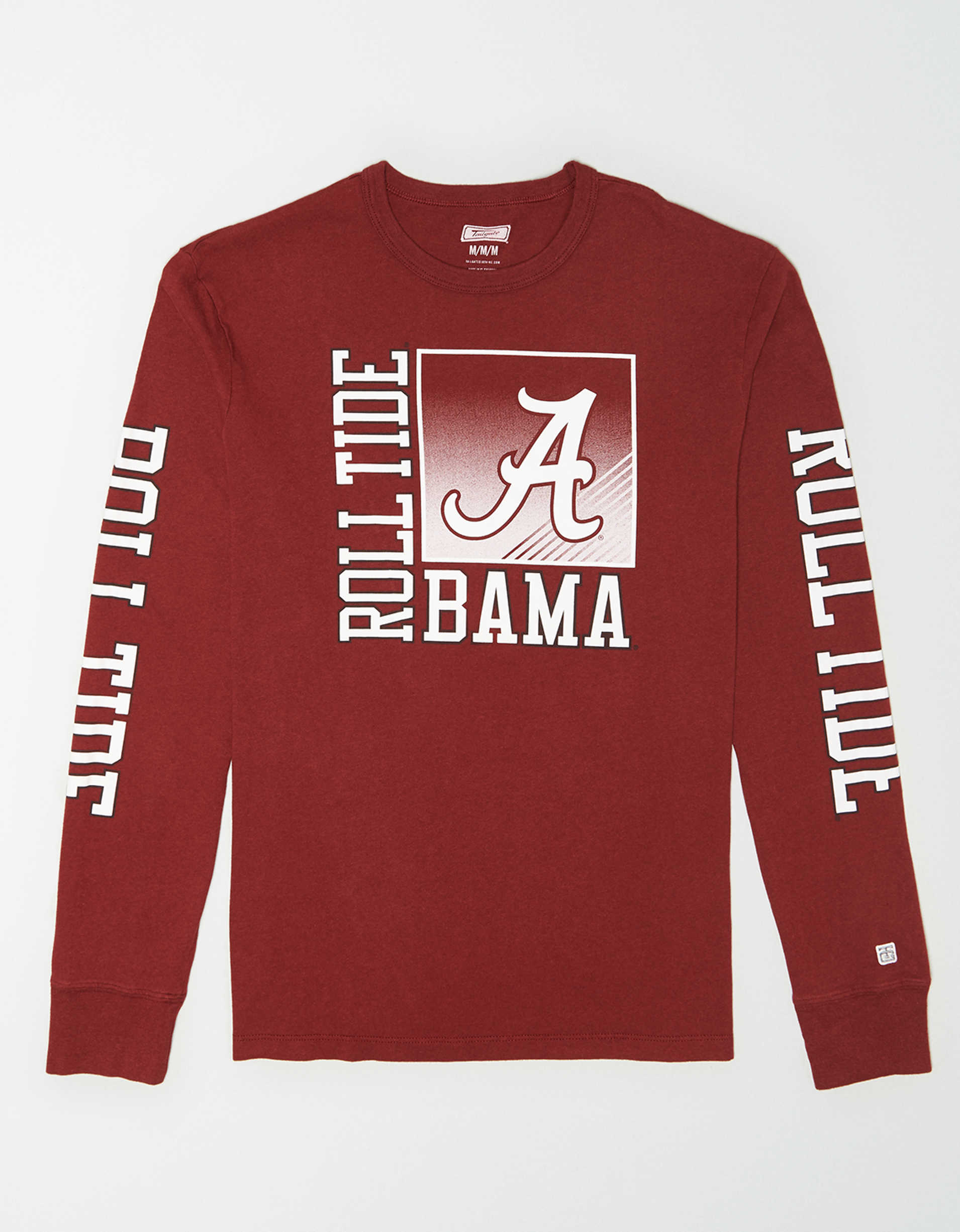 Tailgate Men's Alabama Long Sleeve T-Shirt