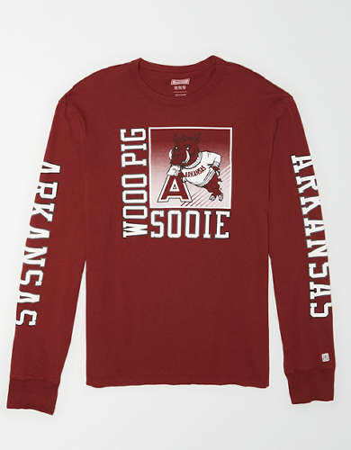 Tailgate Men's Arkansas Long Sleeve T-Shirt