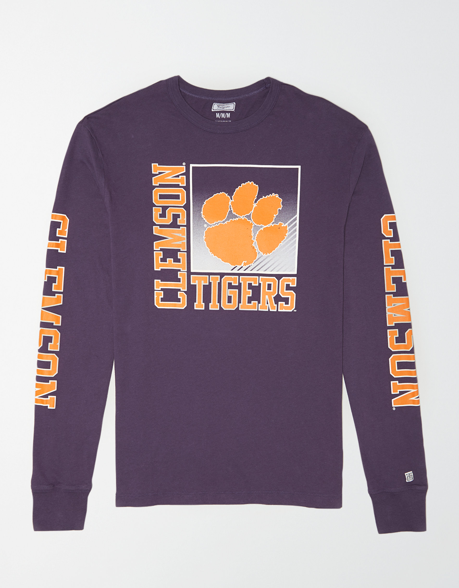 Tailgate Men's Clemson Long Sleeve T-Shirt