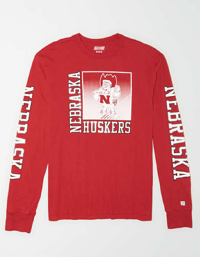 Tailgate Men's Nebraska Long Sleeve T-Shirt