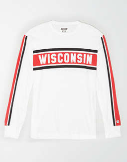 Tailgate Men's Wisconsin Badgers Long Sleeve T-Shirt