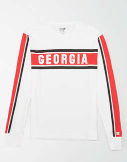 Tailgate Men's Long Sleeve Georgia Bulldogs T-Shirt