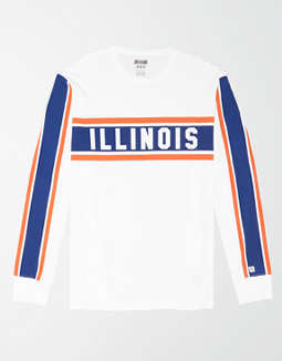 Tailgate Men's Illinois Fighting Illini Long Sleeve T-Shirt