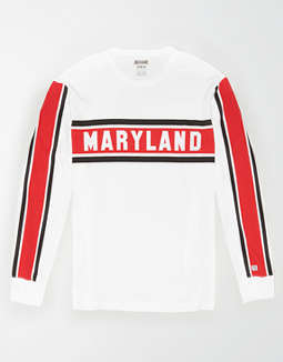 Tailgate Men's Maryland Terrapins Long Sleeve T-Shirt