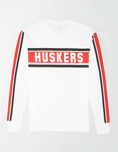 Tailgate Men's Nebraska Cornhuskers Long Sleeve T-Shirt