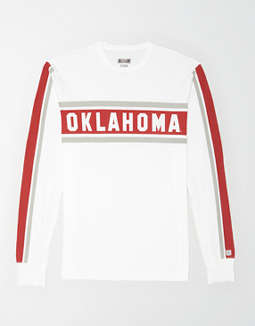 Tailgate Men's Oklahoma Sooners Long Sleeve T-Shirt