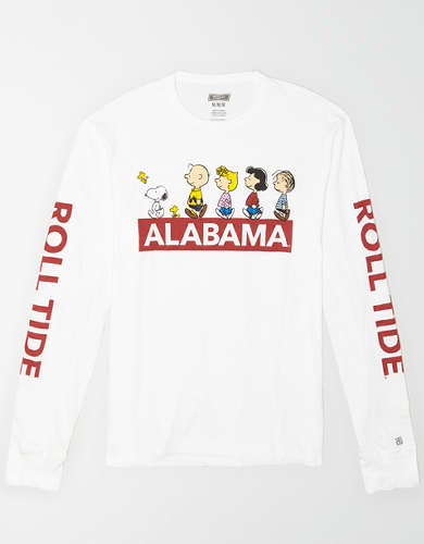 Tailgate x Peanuts Men's Alabama Long Sleeve T-Shirt