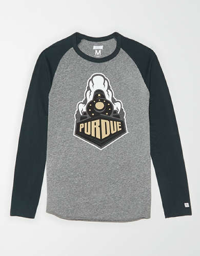 Tailgate Men's Purdue Boilermakers Baseball Shirt