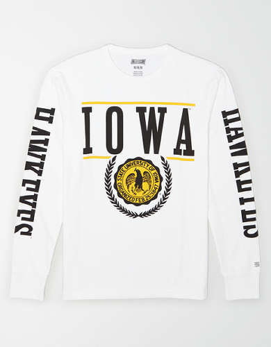 Tailgate Men's Iowa Hawkeyes Long-Sleeve T-Shirt