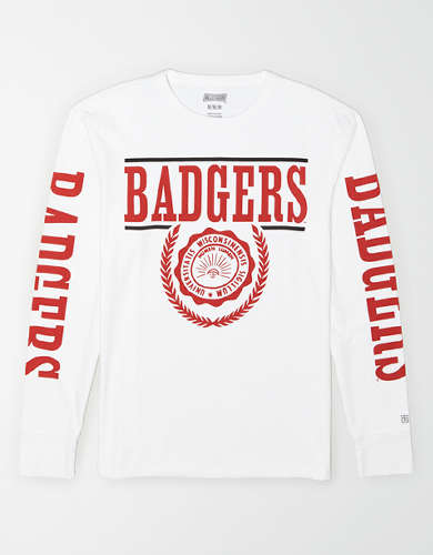 Tailgate Men's Wisconsin Badgers Long-Sleeve T-Shirt