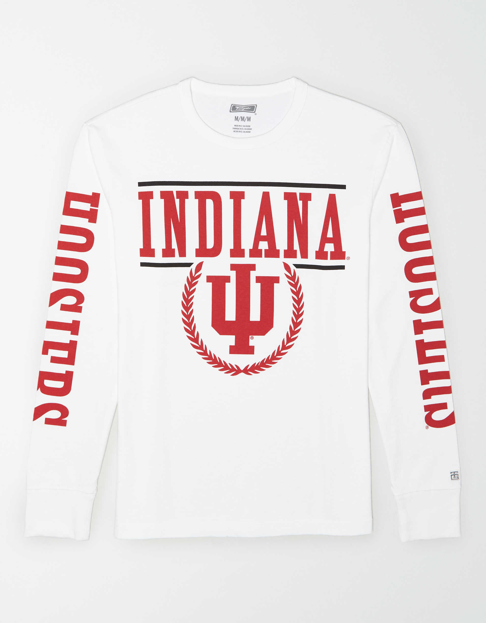 Tailgate Men's Indiana Hoosiers Long-Sleeve T-Shirt