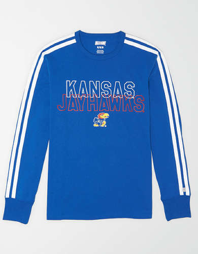 Tailgate Men's Kansas Jayhawks Long Sleeve T-Shirt