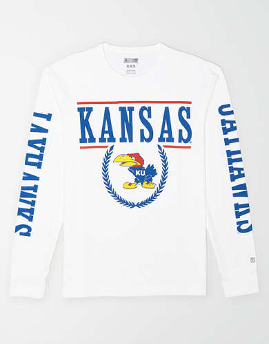 Tailgate Men's Kansas Jayhawks Long-Sleeve T-Shirt