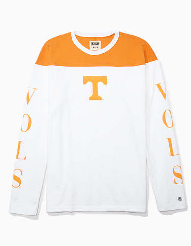 Tailgate Men's Tennessee Volunteers Long-Sleeve Colorblock T-Shirt