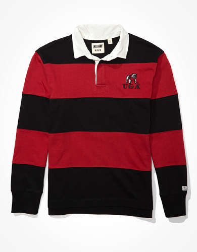 Tailgate Men's Georgia Bulldogs Rugby Shirt