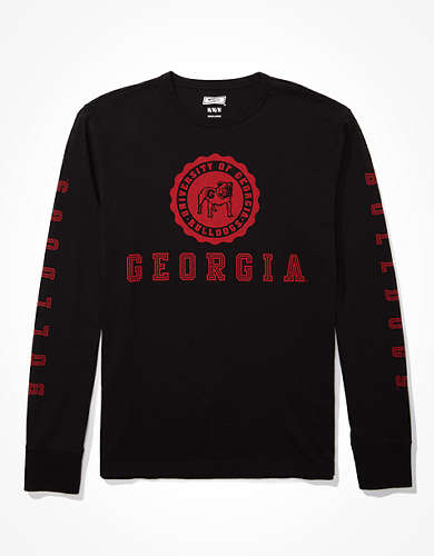 Tailgate Men's Georgia Bulldogs Long-Sleeve T-Shirt