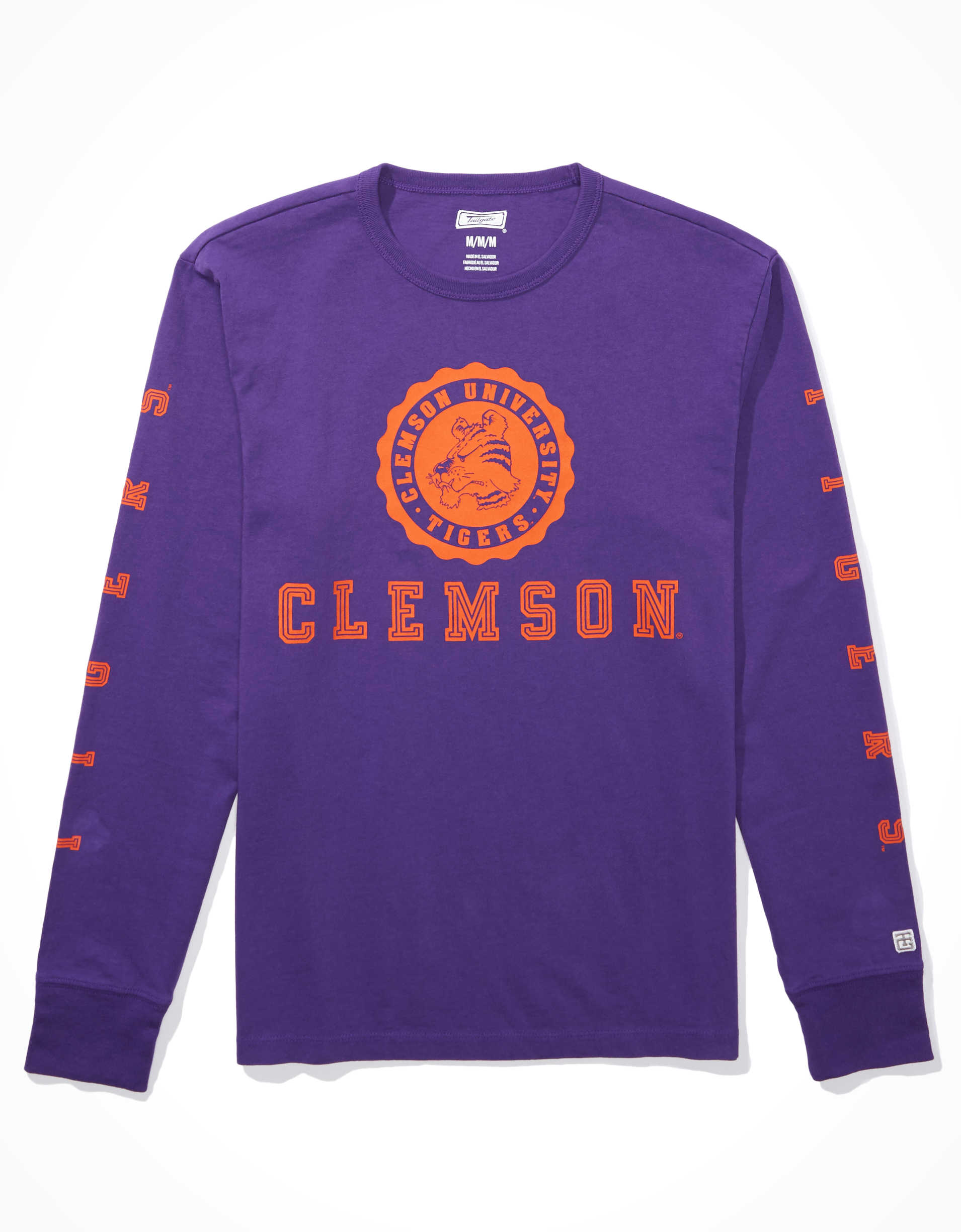 Tailgate Men's Clemson Tigers Long-Sleeve T-Shirt