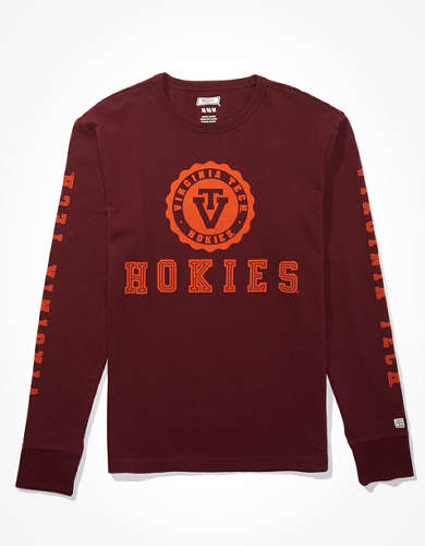 Tailgate Men's Virginia Tech Hokies Long-Sleeve T-Shirt