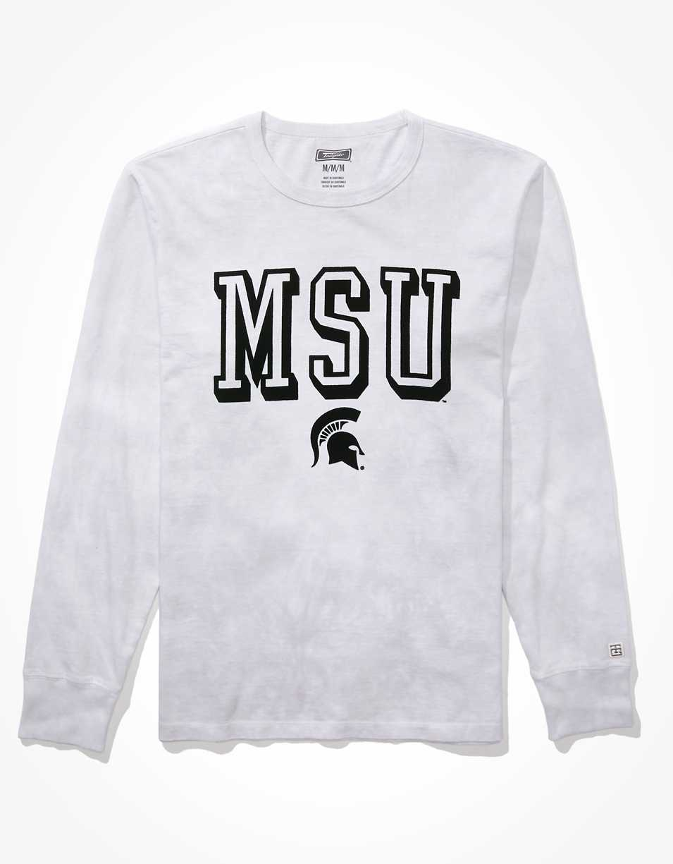 Tailgate Men's Michigan State Tie Dye T-Shirt