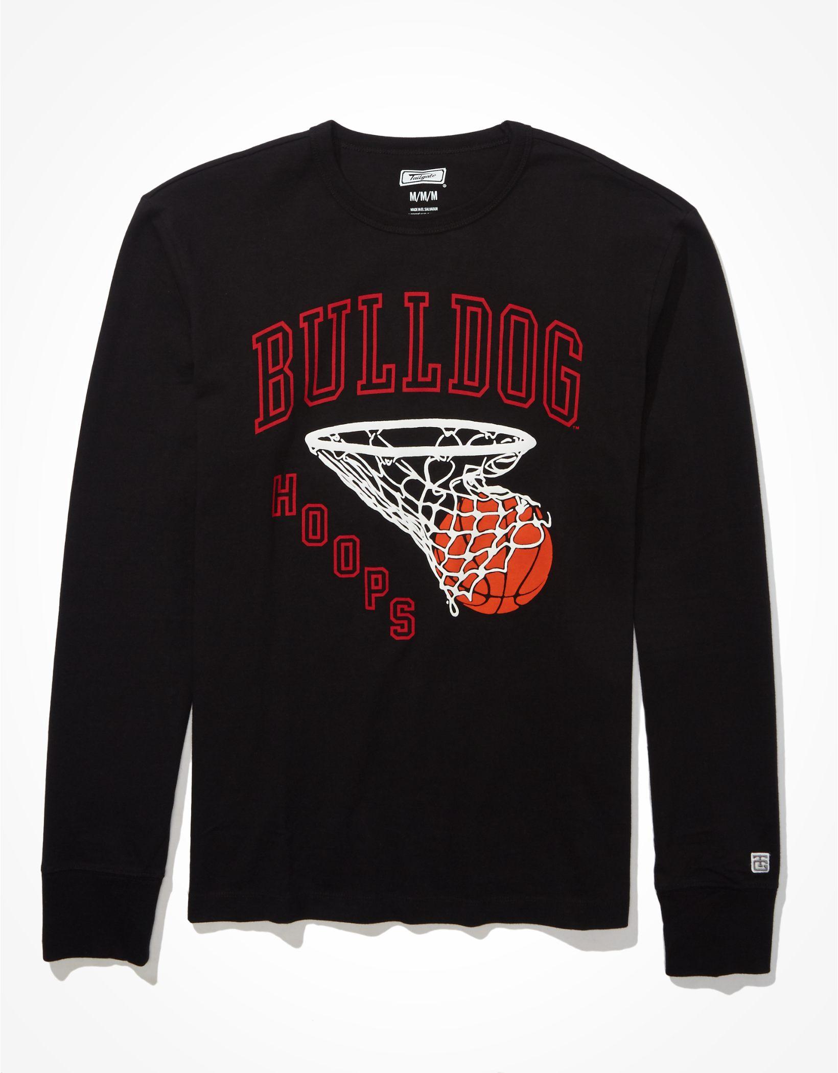 Tailgate Men's UGA Bulldogs Puff Graphic T-Shirt