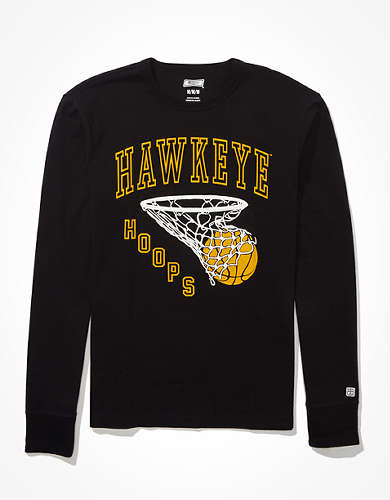 Tailgate Men's Iowa Hawkeyes Puff Graphic T-Shirt
