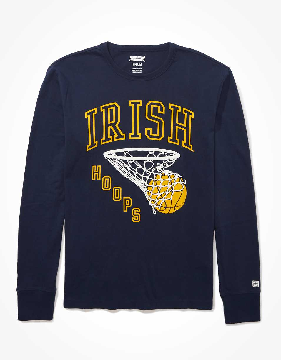 Tailgate Men's Notre Dame Puff Graphic T-Shirt