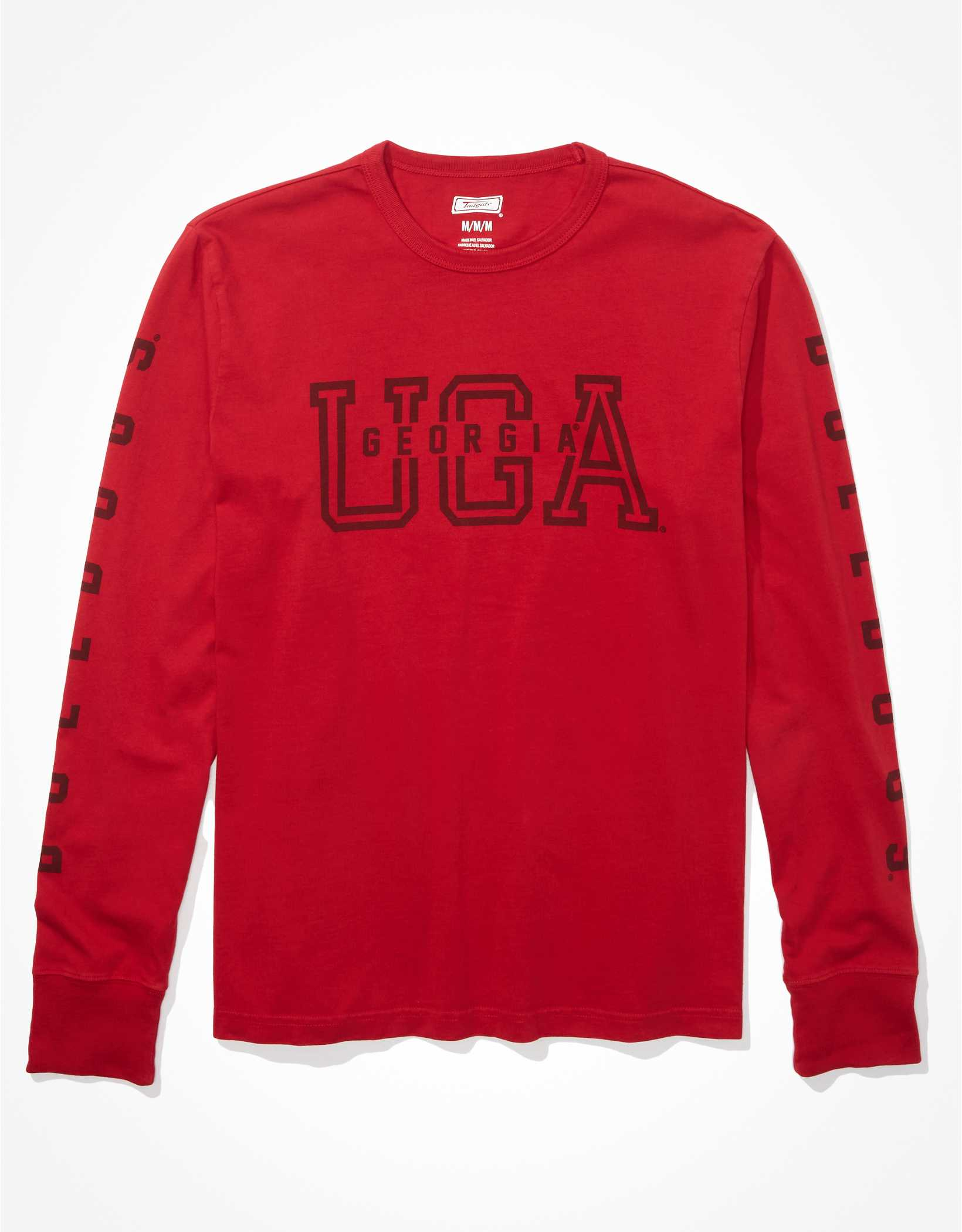Tailgate Men's Georgia Bulldogs Long-Sleeve Graphic T-Shirt