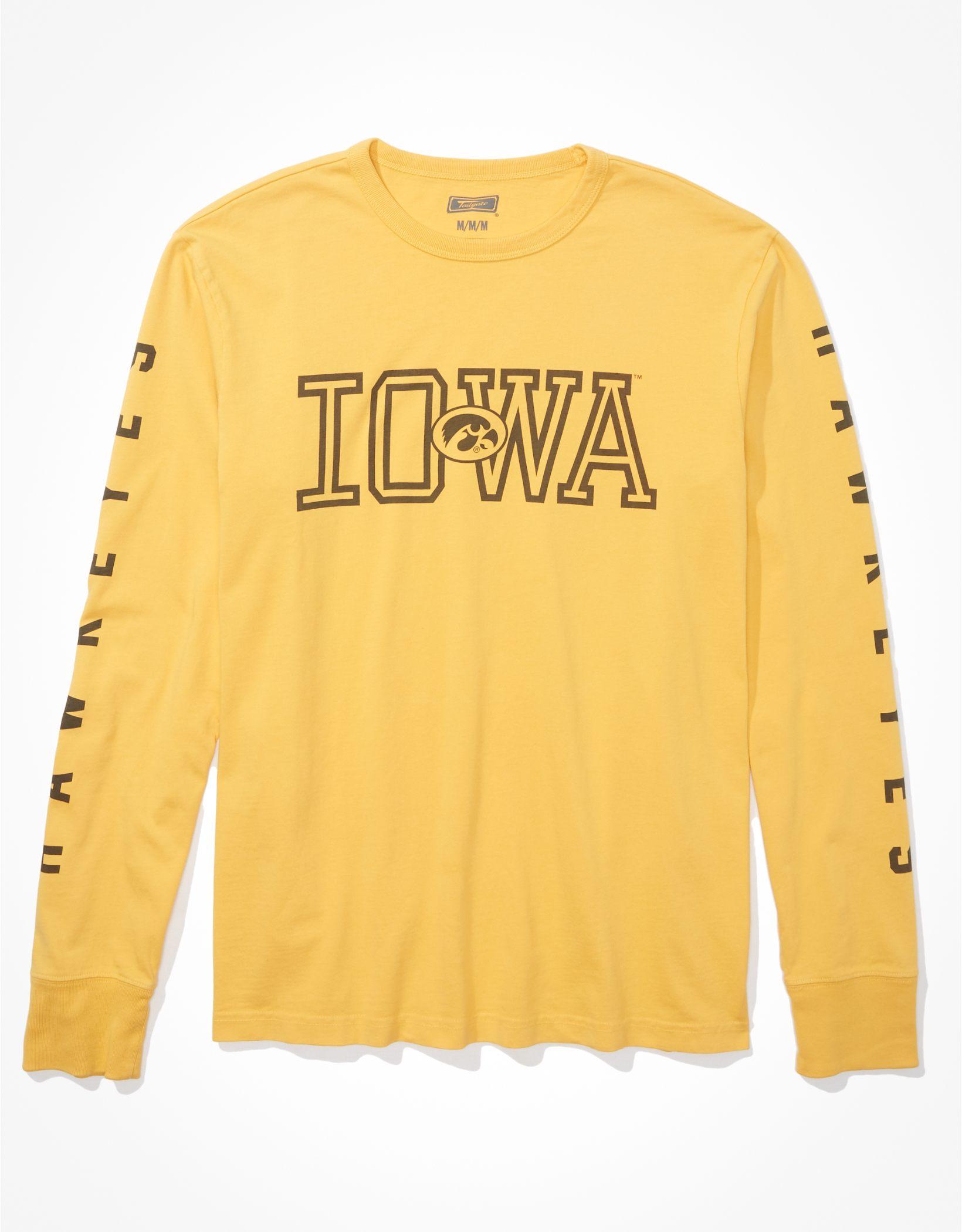 Tailgate Men's Iowa Hawkeyes Long-Sleeve Graphic T-Shirt