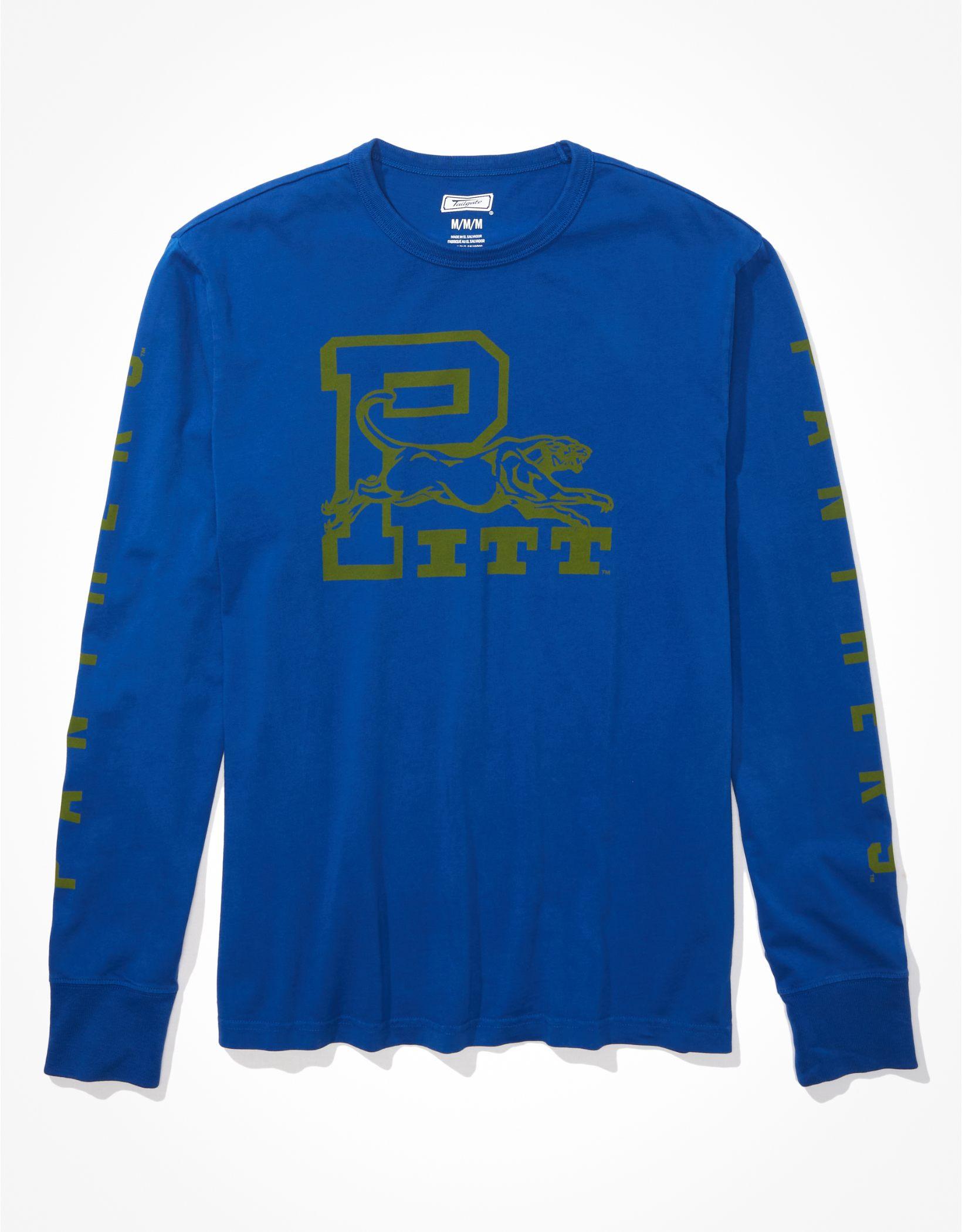 Tailgate Men's Pitt Panthers Long-Sleeve Graphic T-Shirt