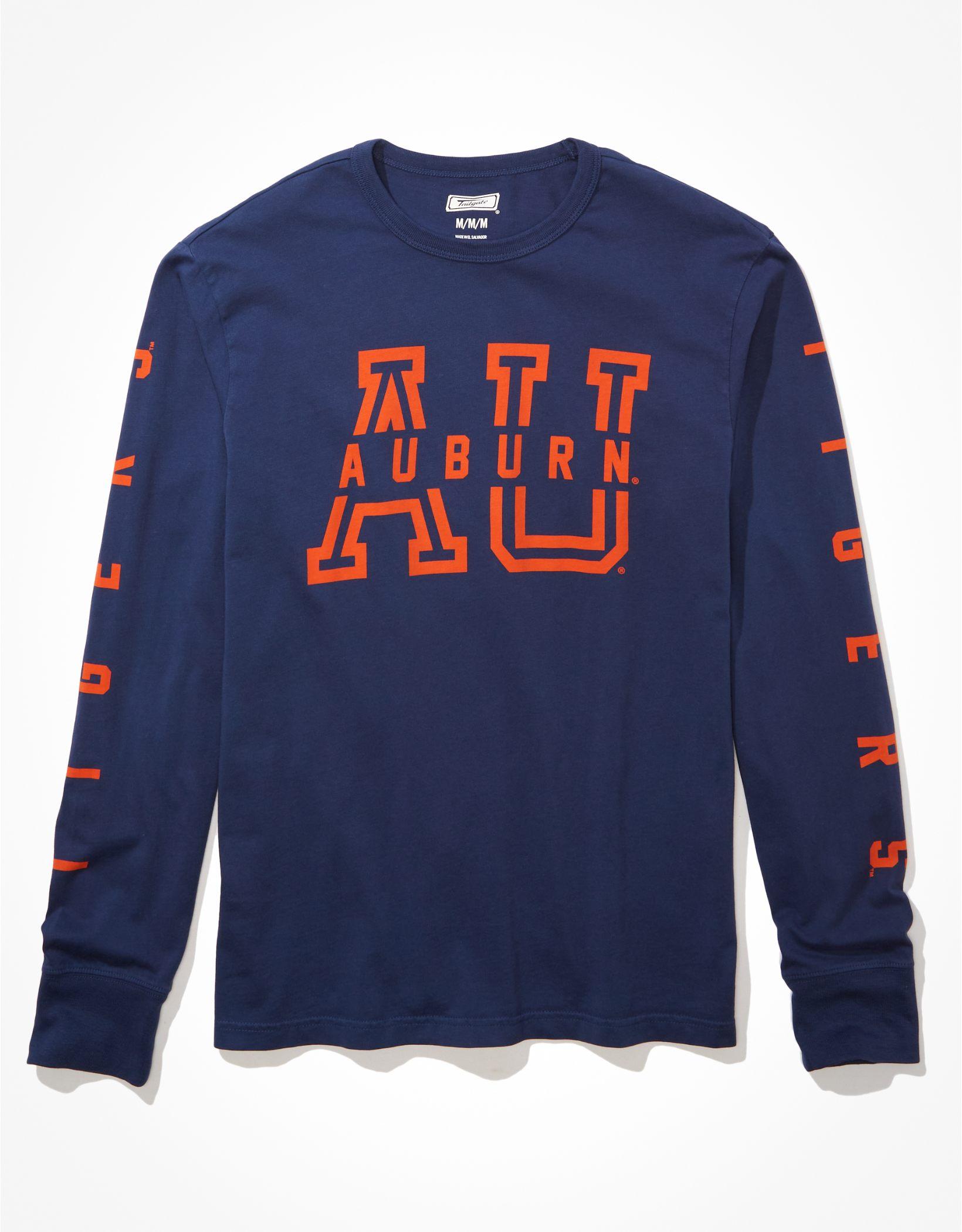 Tailgate Men's Auburn Tigers Long-Sleeve Graphic T-Shirt