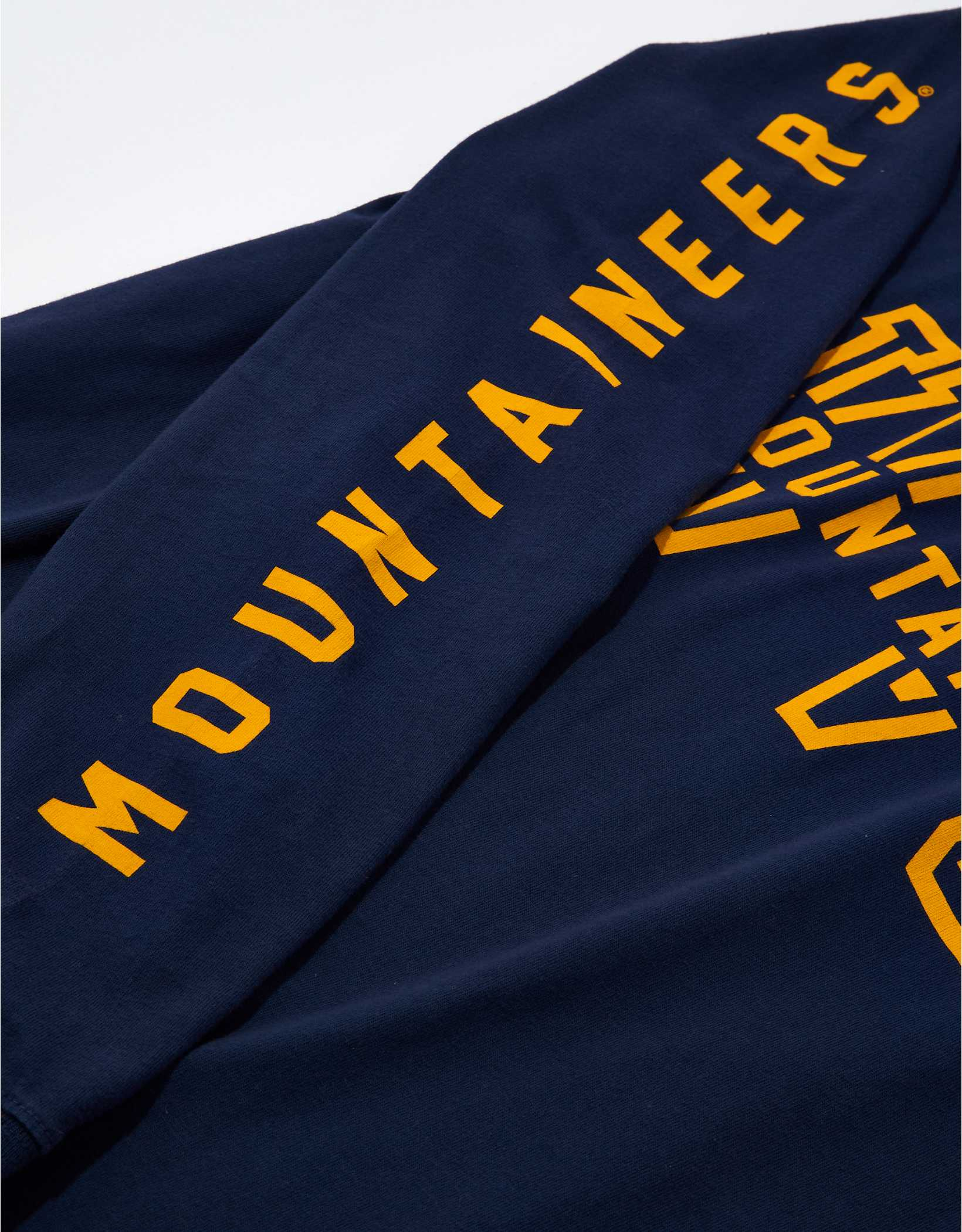 Tailgate Men's WVU Mountaineers Long-Sleeve Graphic T-Shirt
