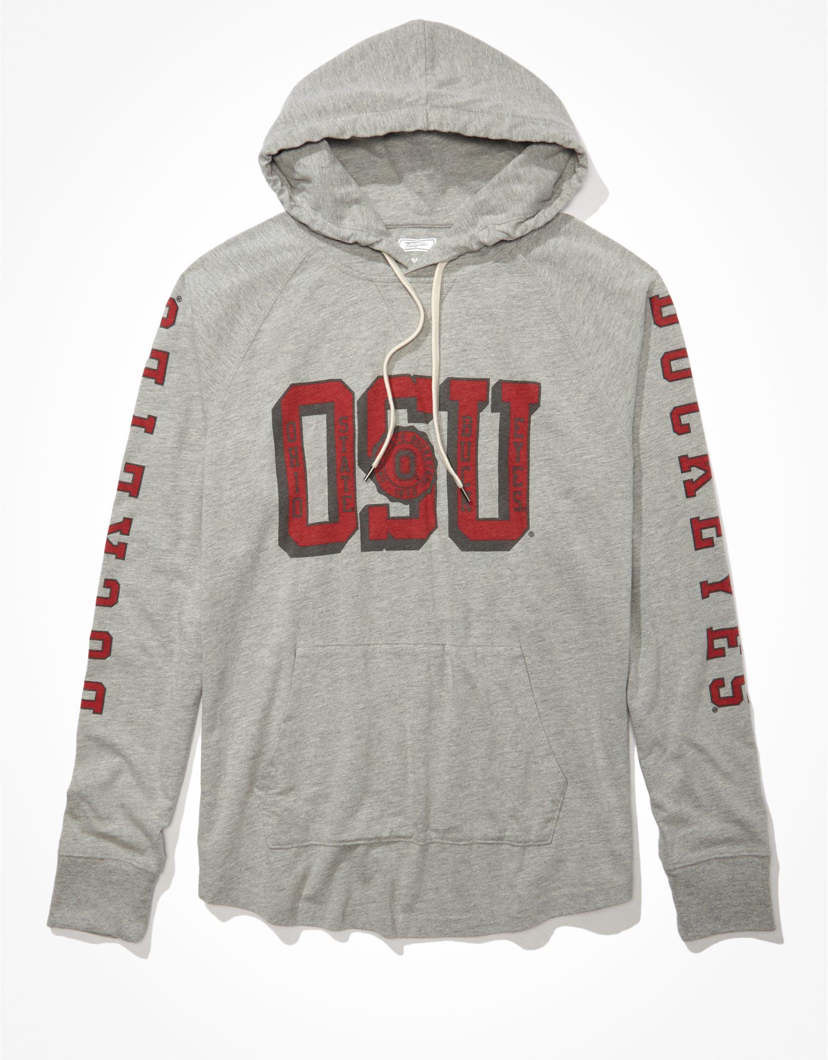 Tailgate Men's OSU Buckeyes Graphic Hoodie T-Shirt