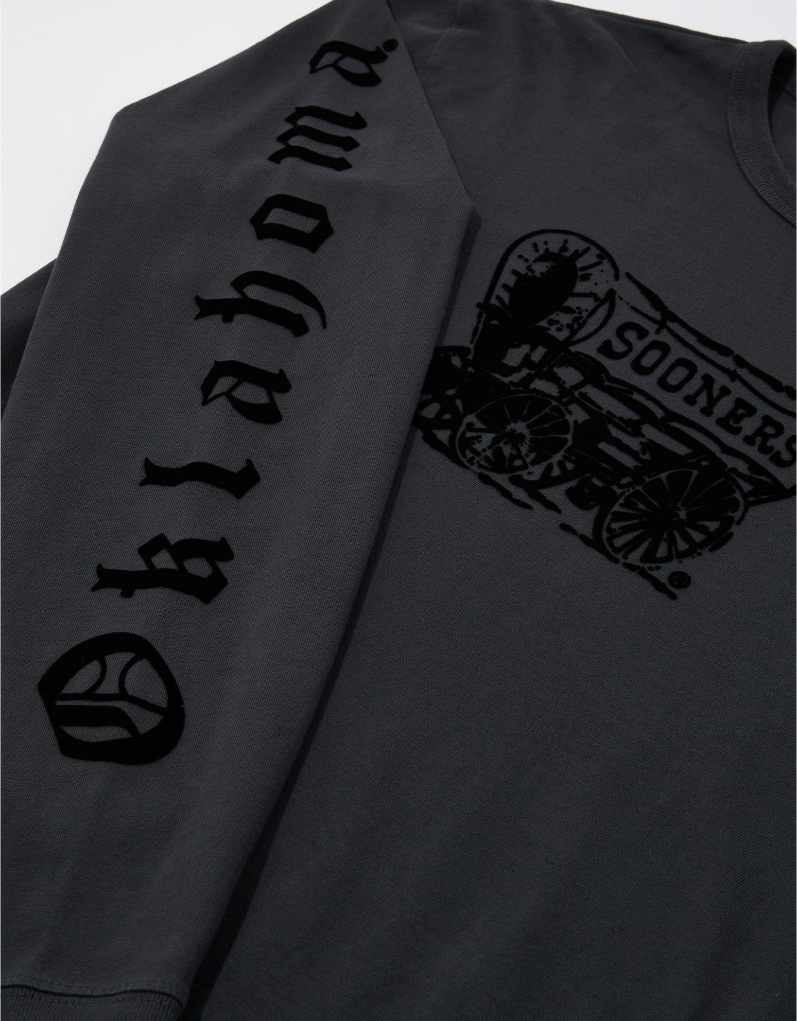 Tailgate Men's Oklahoma Sooners Long-Sleeve Tonal T-Shirt