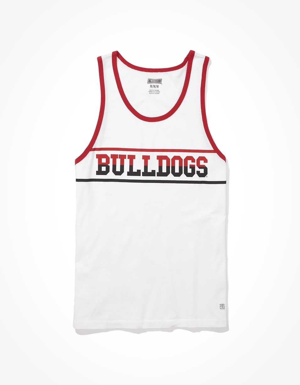 Tailgate Men's UGA Bulldogs Ringer Tank Top