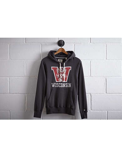 Tailgate Men's Wisconsin Badgers Popover Hoodie -