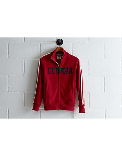 Tailgate Men's Georgia Track Jacket - Free Returns