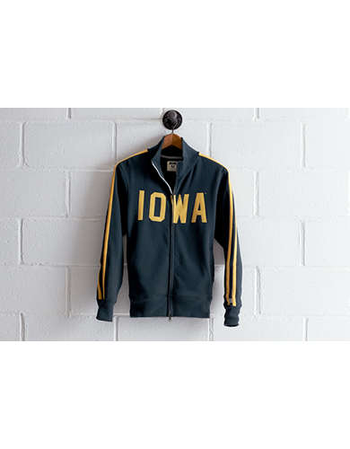 Tailgate Men's Iowa Track Jacket - Free Returns