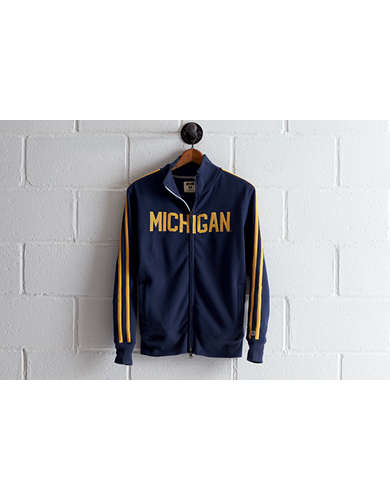 Tailgate Men's Michigan Track Jacket - Free Returns