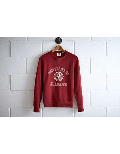 Tailgate Men's Alabama Crew Sweatshirt - Free Returns