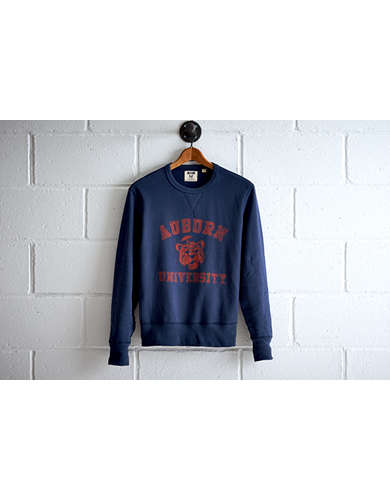 Tailgate Men's Auburn Crew Sweatshirt - Free Returns