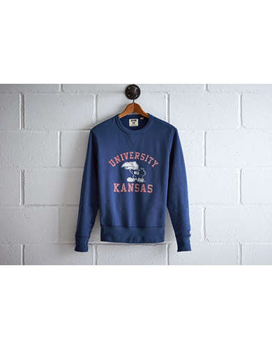 Tailgate Men's Kansas Crew Sweatshirt -
