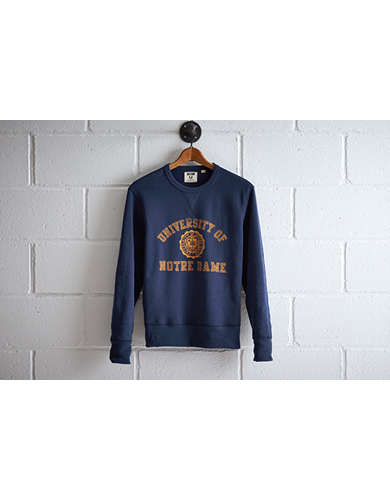 Tailgate Men's Notre Dame Crew Sweatshirt - Free Returns
