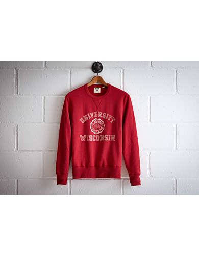 Tailgate Men's Wisconsin Crew Sweatshirt -
